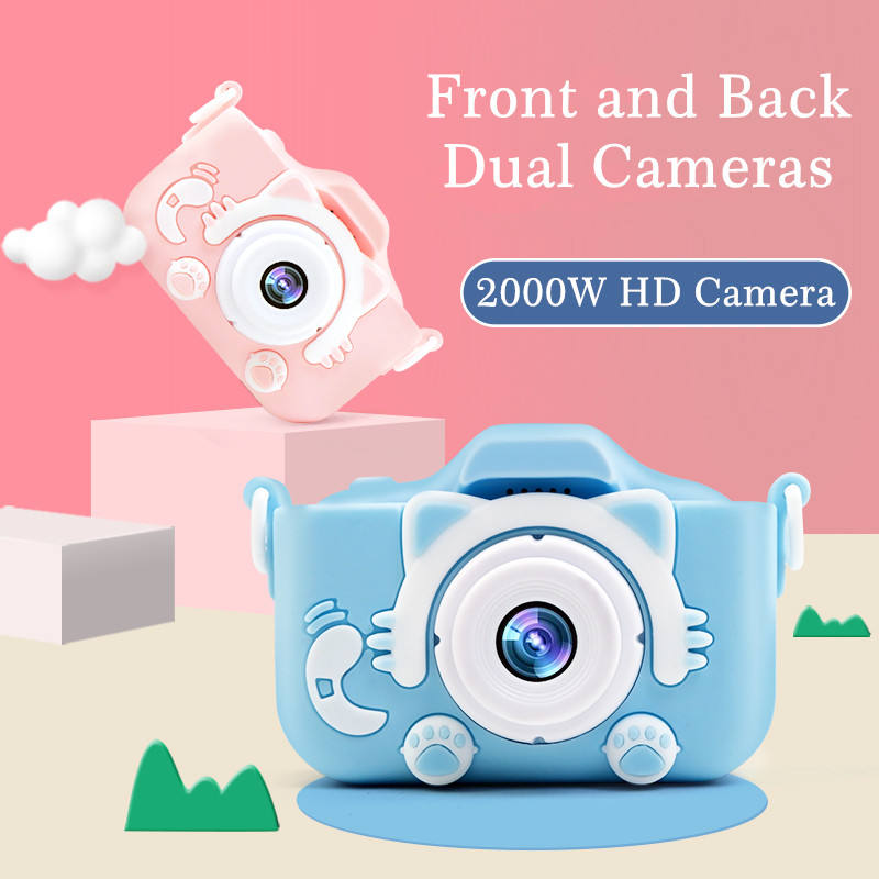 OkyRie X5 Best Seller Cute Children Security Photo Digital Video Camera Kids