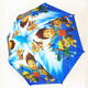 wholesale high quality anti dripping cute cartoon character umbrella kids Umbrella