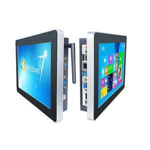 Embedded 10 inch touch screen industrial Panel PC for control system with high quality/wins7 touch panel pc