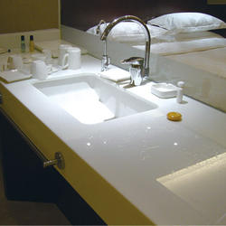 Home Vanity Countertop Nano Crystallized Glass Vanity Top