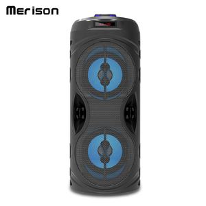 Professional audio sound bar 4 inch enceinte drahtlose bluetooth lumineux bass lautsprecher subwoofer