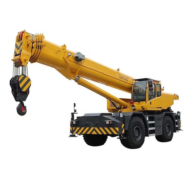 High performance 50 ton Rough terrain crane SINOWAY truck mounted crane for sale