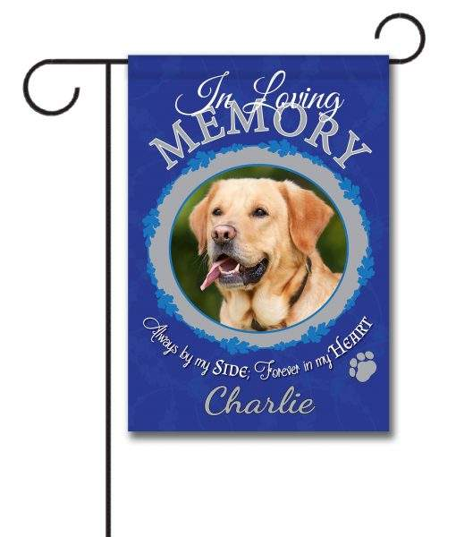 Dogs Sublimation Blank Welcome Garden Flag