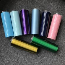 20oz stainless steel skinny tumbler cup double wall insulated tumbler with lid and straw insulated skinny tumbler cups