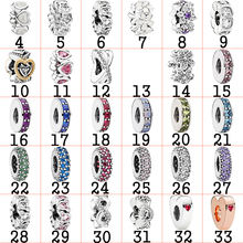 Fahmi 925 Sterling Silver DIY Charm Youth Spacer Clip Bead  Original Jewellery For Women