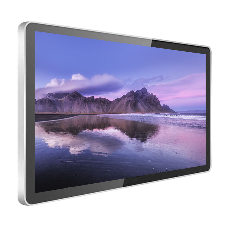 24 inch outdoor wall mount/horizontal k style touch screen digital signage advertising display kisok monitors