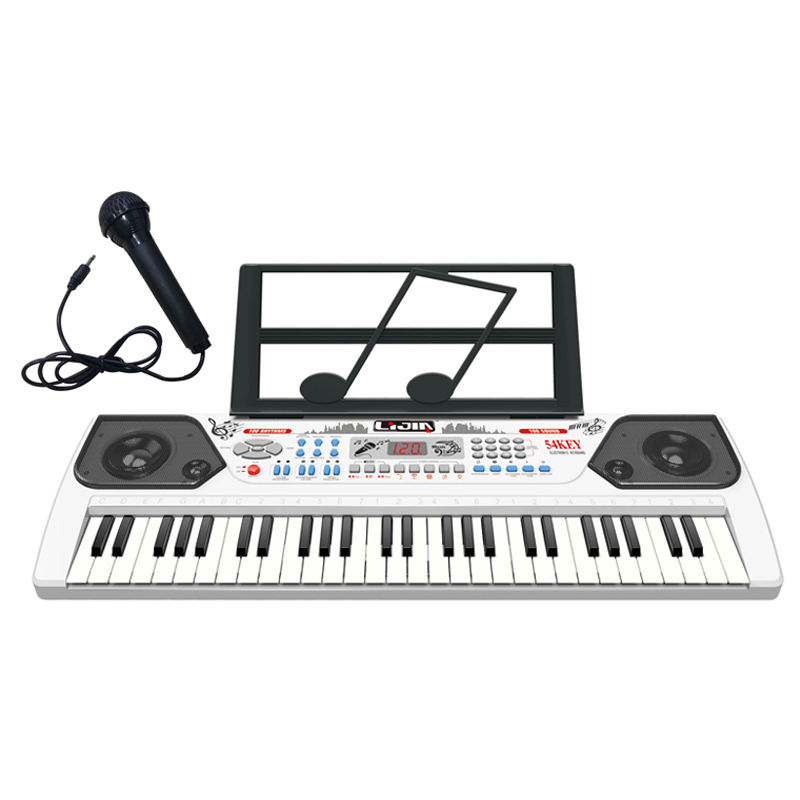 New products 54keys plastic electronic organ toy smart piano keyboard