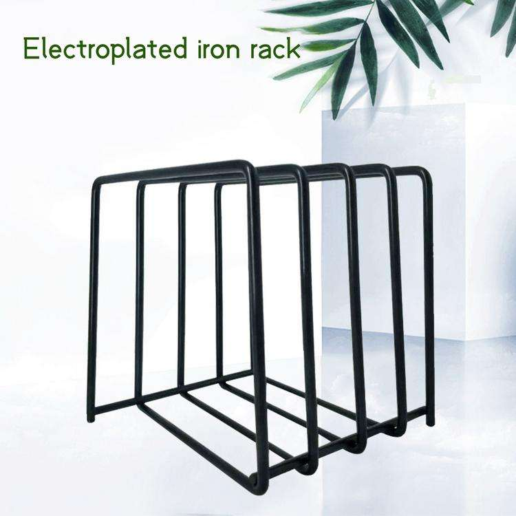 Vinyl Disc Display Rack Wrought Iron Record Collection Shelf stand CD storage rack