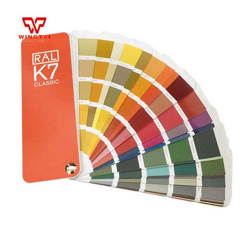 Germany RAL K7 Color Chart