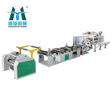 Double-screw Industrial Packaging Pet Sheet Plastic Extruder Machine Line