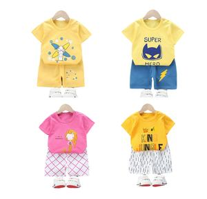 Cheap China Summer Comfortable Clothes Clothing Set Bulk Wholesale Kids Clothing Boys
