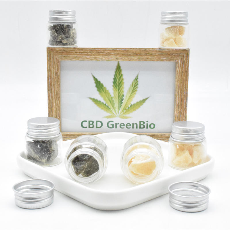 High Quality CBD Crumble 80% 90% 95% Extract From CBD GreenBio