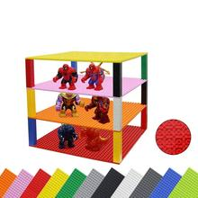 Classic Brick Baseplates Base Plates  Stackable Plates to Create Your Own Table Compatible with legoes building blocks