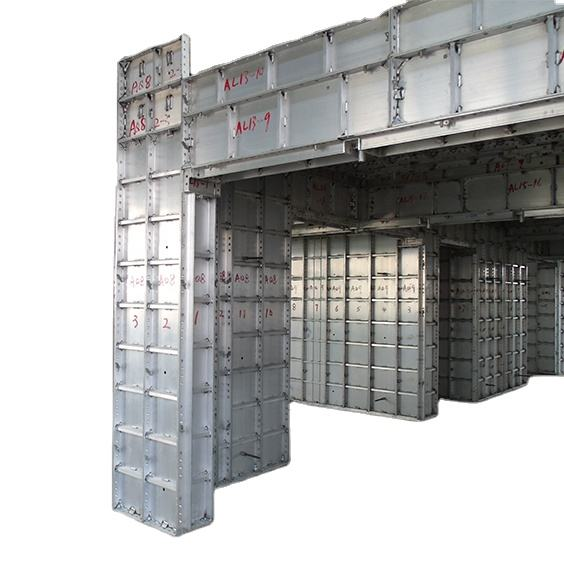 New Aluminum Extrusion Formwork Materials for high-rise building Construction