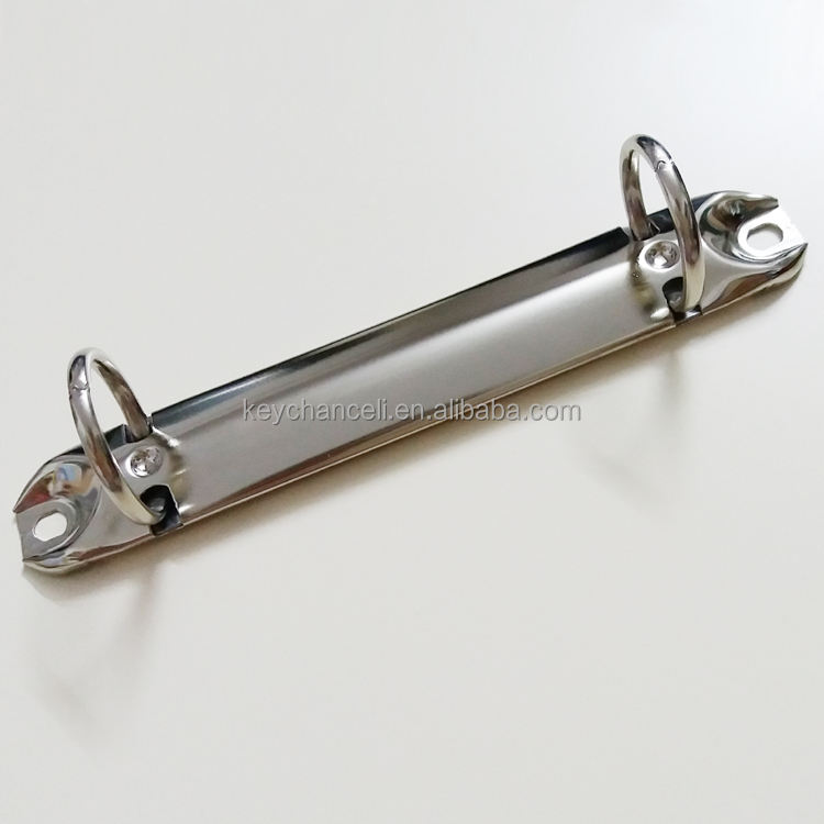 China Leverancier 123 Mm Zilver Nikkel Plated O Vorm <span class=keywords><strong>Mechanisme</strong></span> Metaal 2 <span class=keywords><strong>Ringband</strong></span> Clip Klembord Clip
