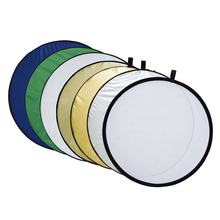 Hot selling OEM service 7 in1 reflective panel studio light photo reflector for photography