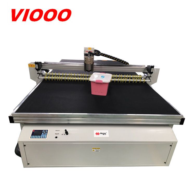 car mats cutting machine CNC knife cutter 1625