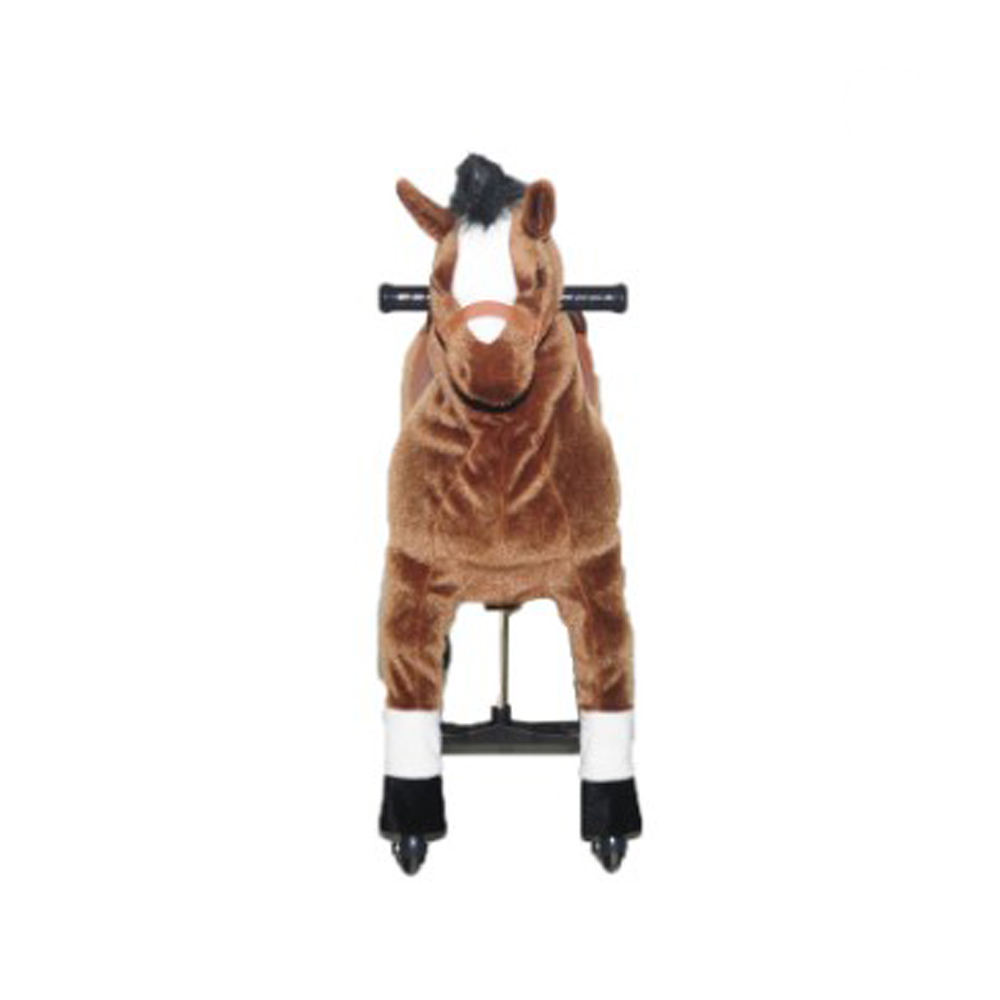 Horse [ Horse Toy ] Horse Animal Toy For Kids Riding Animal Plush Stuffed Rocking Horse Toy For Kid Party Game