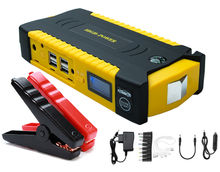 High power 69800mah 600A current peak Portable multi-function 12v car jump starter with air compressor