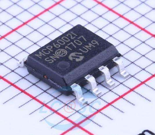 DUAL 1MHZ IC SOIC 8 SMD Part # MCP6002-E//SN OP AMP