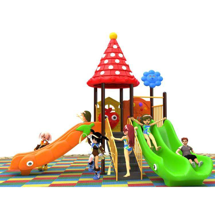 Hot sale cheap price outdoor toys playground equipment play set side