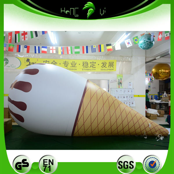 Advertising Inflatable Giant Hot Summer Ice Cream 3d Model