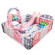Baby playpen fence yard fence environmental safety Plastic indoor kids play playpen ce tuv certificate etc.