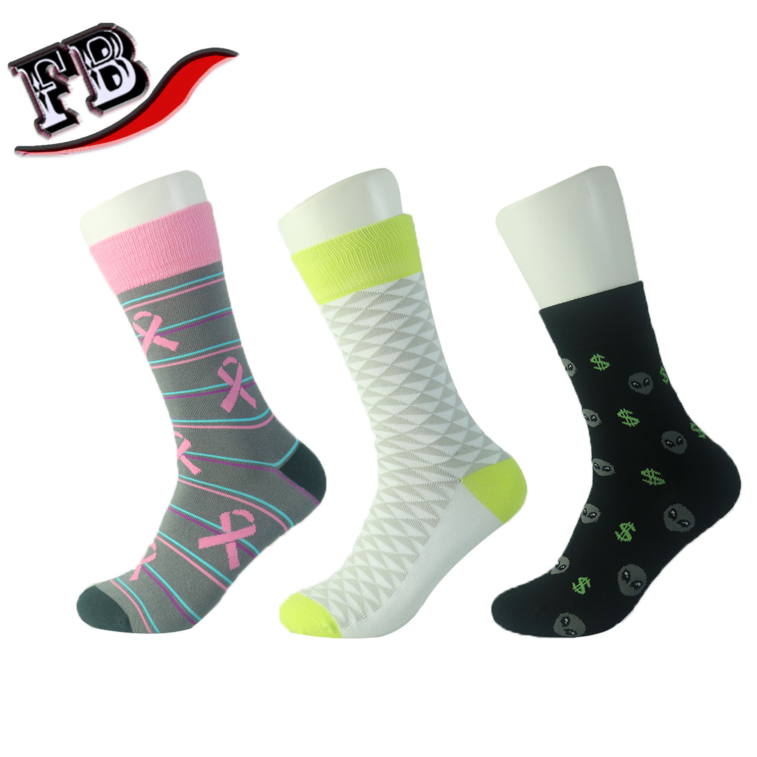 Spring Season and Cotton Material 100% Export Quality Tube Man Socks