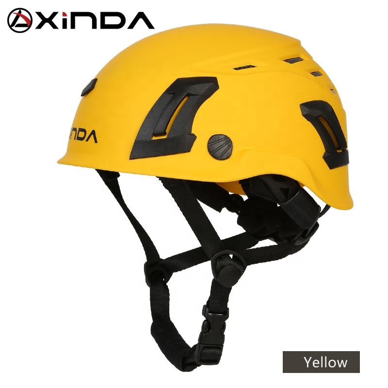 XINDA ABS rock climbing helmet for caving canyoning safety helmet
