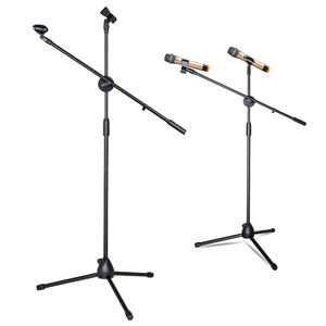 LKT-803 Flexible tripod floor microphone stand performance professional mic stand made in China