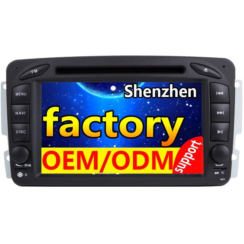 Auto gps MT6625 navigation 4G WiFi Kapazitiven Touchscreen Programm AC8227L android 9.0 auto radio dvd-player für Benz W209