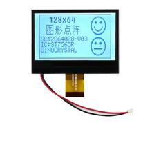 Safe And Stable Quality 2.6 Inch ST7565 Driver IC 128x64 Graphics Positive Transflective COG FSTN Type LCD Module