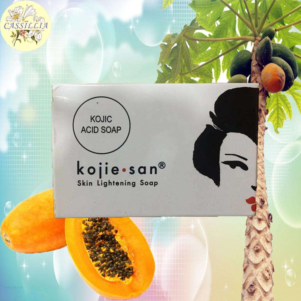 oem factory whole sale organic skin whitening african black skin papaya caro kojic soap