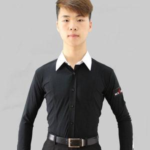 men International Standard Dance Dance Apparel Dance Shirt