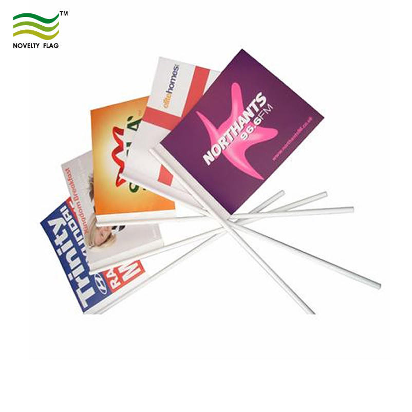 Economy Eco-friendly paper flag with stick (*NF01P01029)