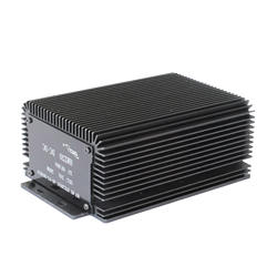 IP66 HWZ20 black 300w 72v to 12v isolated dc dc power converters