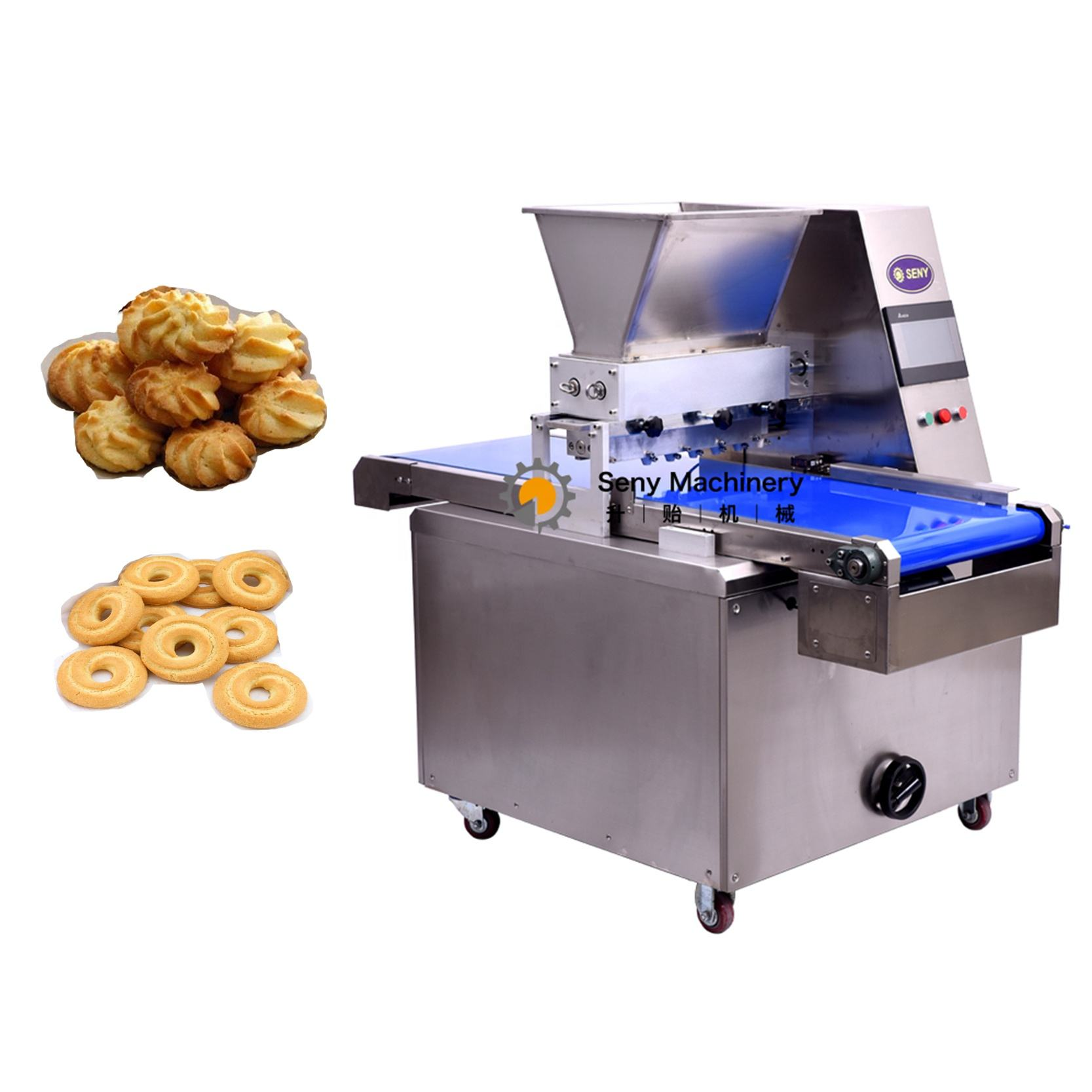 2019 Hot sale high quality customized biscuit automatic encrusting machine