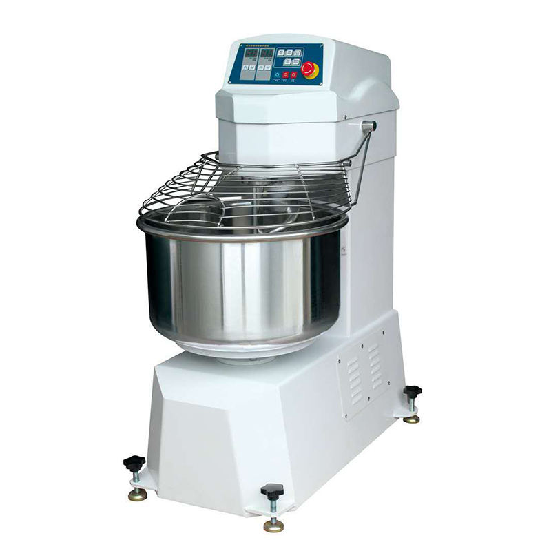 China Supplier powerful spiral electric bakery baking powder dough mixer machine