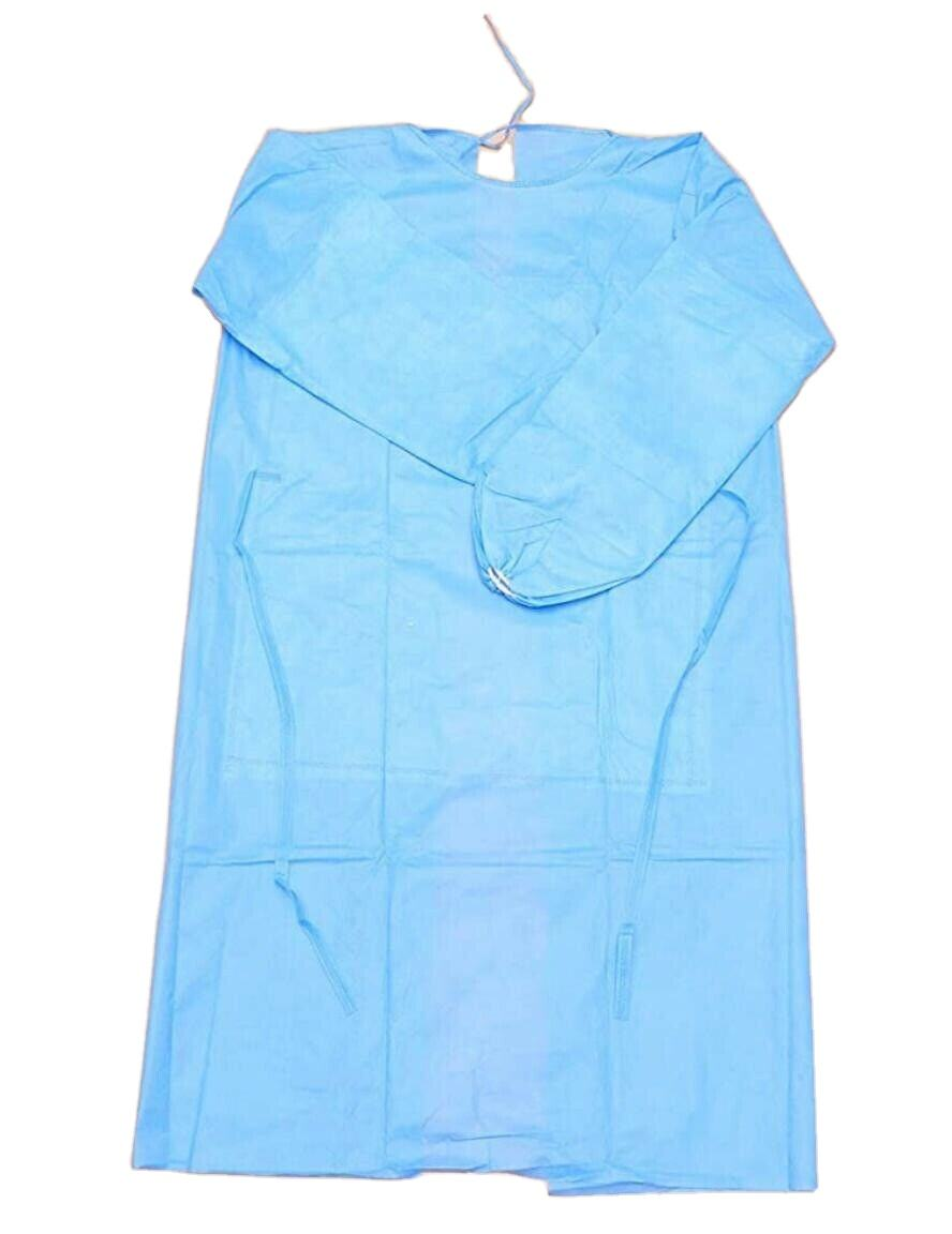 AAMI Level 2 3 4 Non Woven Isolation Gown Disposable
