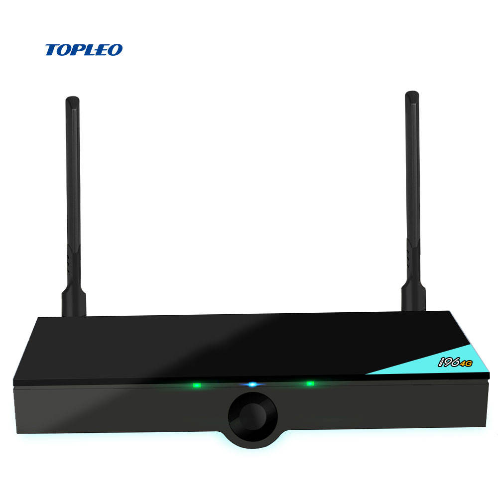 2019 TOPLEO i96 4g lte RK3328 quad Core 16GB android 7.1 tv box with 3g 4g sim card