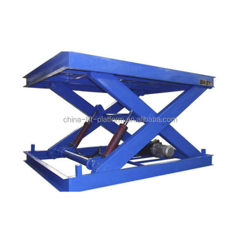 Customized 3Tons 5Tons 10Tons Stationary Scissor Lift Table Hydraulic Scissor Lift For Sale