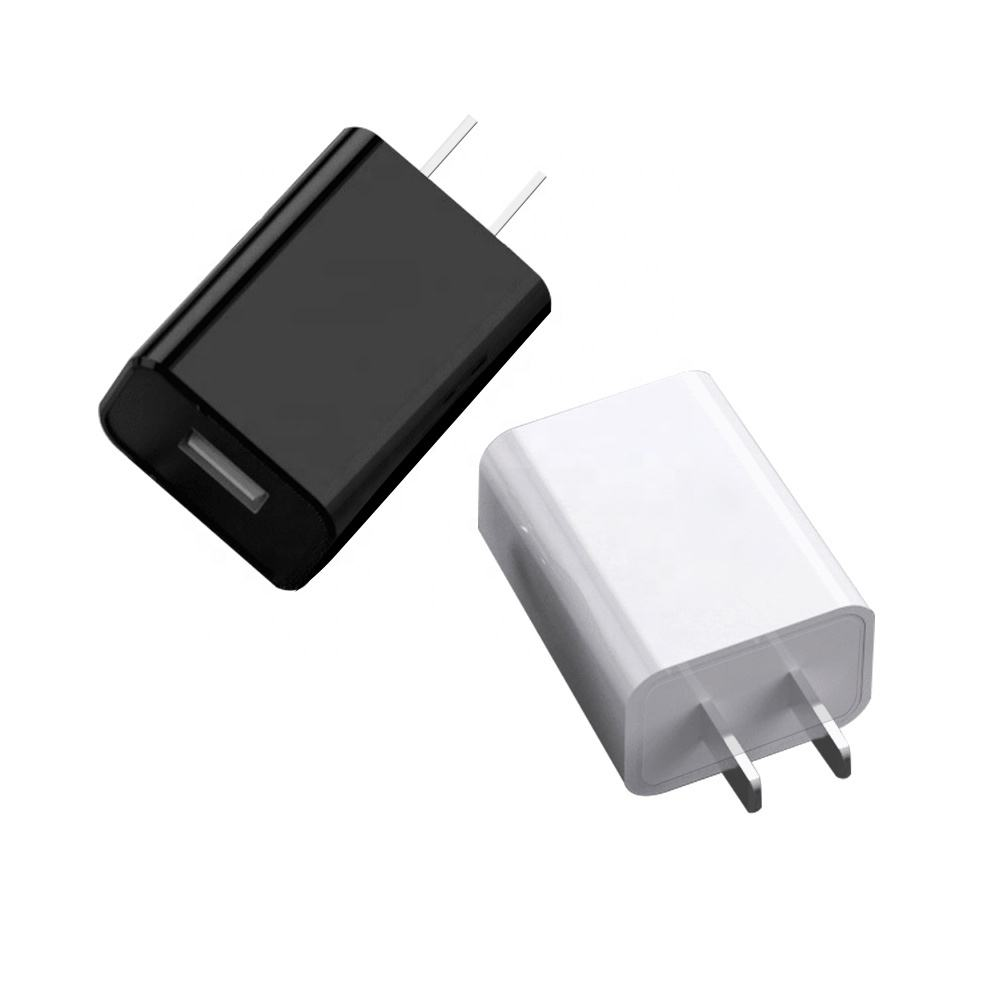 High quality 5v 1a 1.5a 2a 2.1a EU/USA/India Plug Single Port USB Wall Charger For Mobile Charger