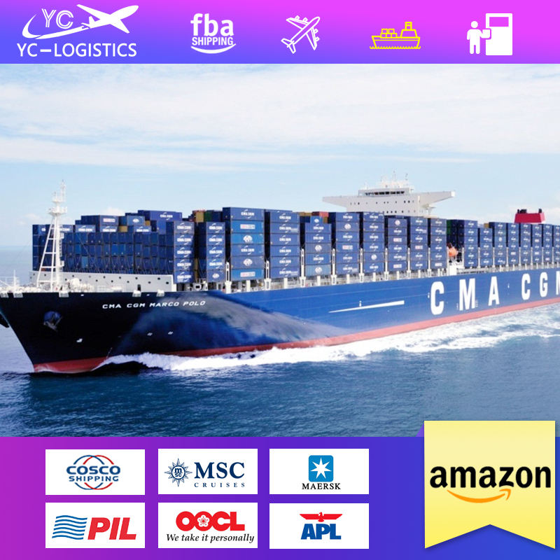 Cheap Shipping by air sea from China to Dubai Abu Dhabi UAE amazon warehouse door to door ddp to usa canada France Bratain