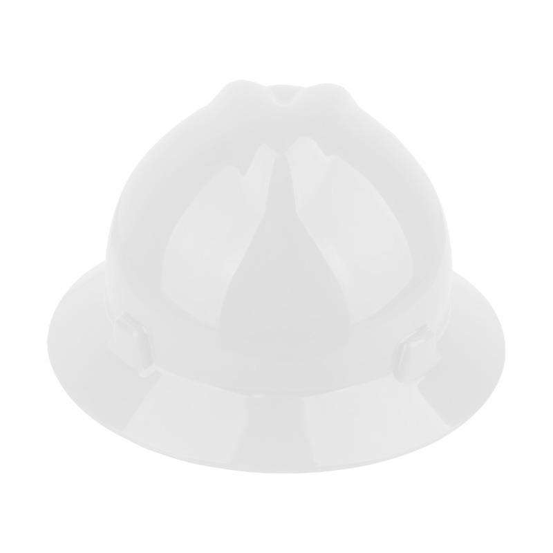 PE material full prim construction safety helmet hard hats with factory price