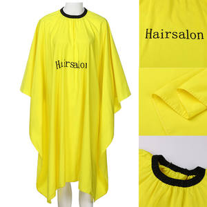 Hot Selling Salon Hairdresser Capes and Aprons  Disposable Salon Kimino Hairdresser Cloak
