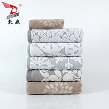 21s/2 luxury Cheap price hometextile dyed yarn jacquard towel100% cotton