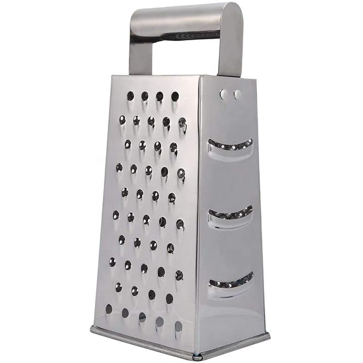 Stainless Steel 4 sided Fruit and Vegetable Grater Cutter For Home Kitchen