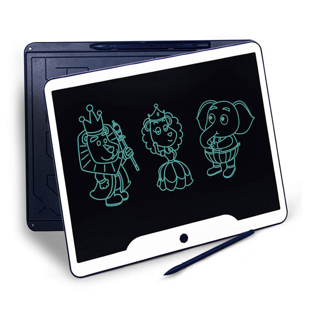 Policral <span class=keywords><strong>Lcd</strong></span> <span class=keywords><strong>Schrijfblad</strong></span> 15 Inch Elektronische Doodle Pad Digitale Ewriter Grafische Board Met Screen Clear Lock Voor Kids