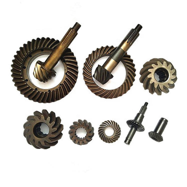 Factory Price Custom Straight Bevel Gear Spiral Bevel Gear Made By WhachineBrothers ltd