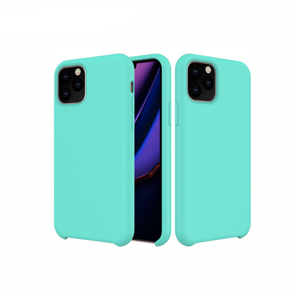 Soft touch microfiber cloth liquid silicone gel rubber case soft protective for samsung s10 plus cover for 2019 iPhone 11